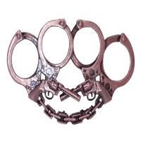 Poing américain Guns N Cuffs Bronze