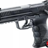 HK 45 Noir Full Métal CO2 Fixe 1.9J