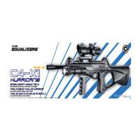 Plan Beta Fusil C4-X1 Hurricane KIT Noir SPRING 0.5J