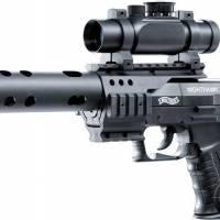 Walther Nighthawk 4.5mm (.177) Noir CO2 3.5J