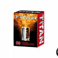Titan Balles à blanc 9mm P.A.K. (x50)