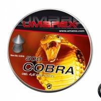 Umarex Plombs pointus Cobra diabolos 4.5mm (x500)