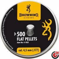 Browning Plombs plats 4.5 mm (.177) (x 500)