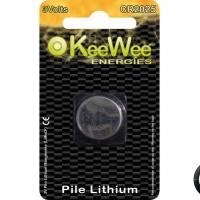 Pile bouton Lithium manganese CR2025 (x1)