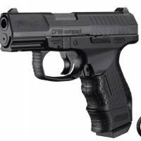 Walther CP99 Compact 4.5mm (.177) Noir Culasse métal CO2 Blowback  3J