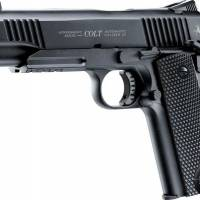 Colt M45 CQBP 4.5mm (.177) NOIR Métal CO2 Blowback 1.5J