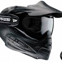 DYE Proto Switch EL Masque de protection Paintball NOIR