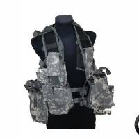 Gilet Tactique type Sud Af Digital