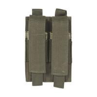 Porte chargeurs Double pour pistolet Olive (fixation Molle)