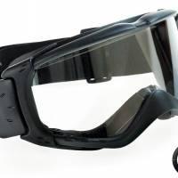 Masque de protection atelier Tactical Noir bord en mousse EN166