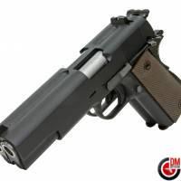 WE Dueller 1911 Double Canon Noir GAZ Blowback 0.9J