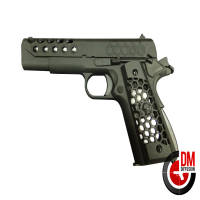 WE 1911 Hex Cut Noir GAZ Blowback 0.9J