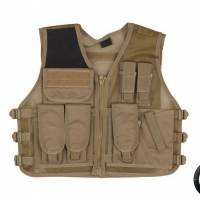DMoniac Veste tactique Recon Tan