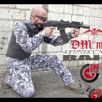 DMoniac Tenue complète Wolf Grey Kryptek Raid Taille 30 S