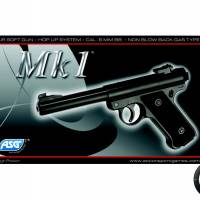 ASG Mk1 Noir GAZ Fixe 1.3J