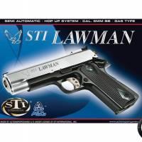 ASG STI Lawman DT Silver Noir GAZ Fixe 0.6J