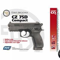 ASG CZ 75D Compact 4.5mm CO2 Fixe 2.7J