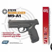 ASG Steyr M9-a1 4.5mm BK CO2 3.3J