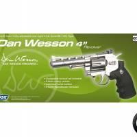 """Dan Wesson 4"""" Chrome CO2 1.8J"""