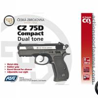 CZ 75D Compact 4.5mm Dual tone CO2 Fixe
