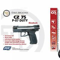CZ 75 P-07 Duty Dual tone 4.5mm Co2 Blowback 2.1J