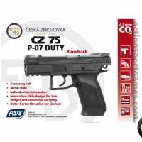 CZ 75 P-07 Duty 4.5mm CO2 Blowback 2.1J