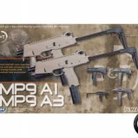 B&T MP9-a3 ASG GAZ Blowback Noir 1.4J