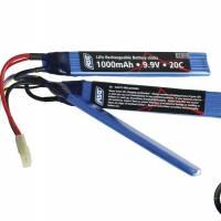 ASG Batterie LiFe 9,9V 20C 1000 mAh 3 sticks