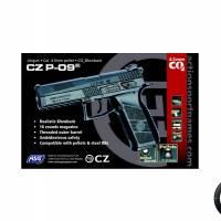 CZ P-09 4.5mm Noir CO2 Blowback 3.7J