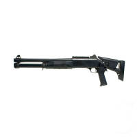 Double Eagle M56DL Shotgun Pompe, 3 billes Burst Rail 0.8J