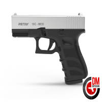Retay MOD 19C 9mm P.A.K Chrome Mate