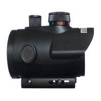 Milbro Point rouge 40mm Rouge/Vert + montages de 11mm