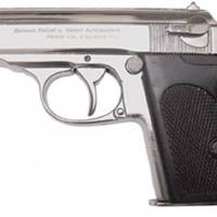Pistolet allemand ssppk chrome
