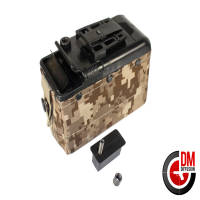 Classic Army Ammo box électrique AOR1 M249 LMG MK46 1200 billes