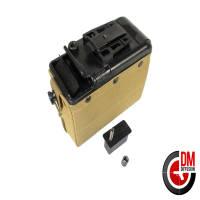 Classic Army Ammo box électrique Tan M249 1200 billes