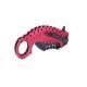 4 - Couteau pliant Rose lame 8cm - clip ceinture