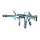 Plan Beta Fusil M4 A1 Commando KIT Noir SPRING 0.5J