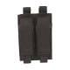 Porte chargeurs Double pour pistolet Noir (fixation Molle)