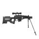 4 - Phantom Elite Carabine L115-B Noir break barrel 19.9J +lunette