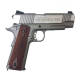 2 - Milbro 1911 Rail Stainless Full Métal CO2 Blowback  1J