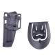 3 - Classic Army Holster rigide droitier pour M9 à rétention active BK