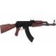 Fusil AK47 métal et bois