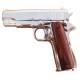 Colt 45 auto.1911 chrome (1000gr)