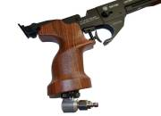 Victor black PCP/CO2 Airgun 4.5mm (.177)
