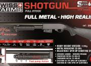 Shot gun full stock metal spring 1.45 joule maxi