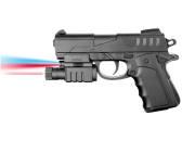 Plan Beta Pistolet Capa-Mod Lampe + laser SPRING Noir 0.5J