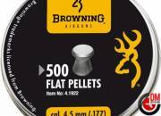 Browning Plombs plats 4.5 mm (.177) (x 500)