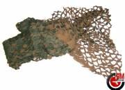 Filet de camouflage Woodland 1,4 x 3m.
