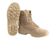 Chaussures Tactical Cordura Tan zip T43/10
