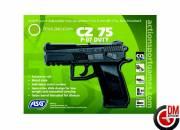 CZ 75 P-07 Duty Full Métal Noir CO2 Fixe 1.8J